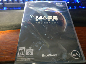 SEALED Mass Effect Andromeda PC Download Code - Save the Tax!