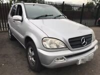 Mercedes ML270 automatic swap van?