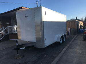 7'x14' Enclosed Cargo Trailer