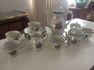 Small Tea Set great for display and use