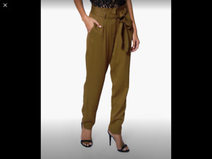 New with tags Forever 21 belted dress pants.