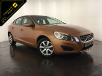 2013 VOLVO S60 ES NAV D4 DIESEL 1 OWNER SERVICE HISTORY FINANCE PX WELCOME