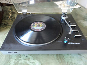 JVC JL-A20 -vintage- Semi-Automatic Belt-Drive Turntable