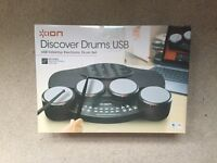 BNIB Electronic drum kit tabletop and usb