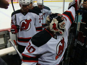 New Jersey Devils @ Buffalo Sabres tickets ON NJ TUNNEL @ BENCH