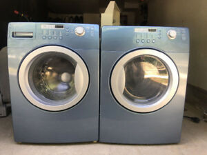 "27"" brada blue front load washer/dryer"