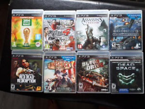 Games for PlayStation 3 / Jeux pour PlayStation 3
