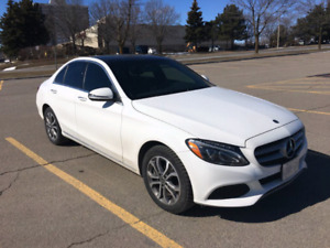 Lease takeover 2018 Benz C300