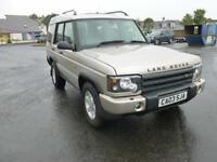 Land Rover Discovery Td5 Gs 7Str Estate 2.5 Manual Diesel