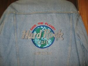 Hard Rock New York Jean Jacket