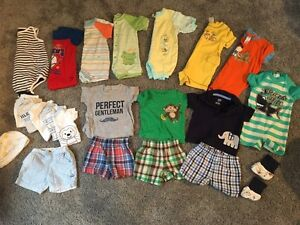 Boys 0-6 month summer/vacation south set (most are 3 months)