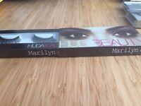 Huda lashes in Marilyn