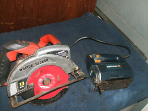 Circular saw and Jigsaw