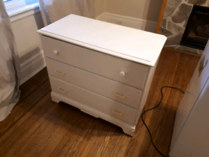 Mini Fridge, Dresser