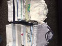 0-3 boys vests
