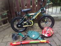 Boys bike age 2-5 approx