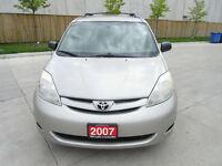 2007 Toyota Sienna LE,Automatic,Up to 3 years warranty,Certified