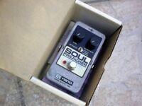EHX Soul Preacher Compressor/Sustainer Guitar Pedal