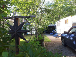 Shuswap Lake Lot and RV at Caravan's West 5 Star Resort
