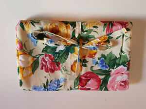 Beautiful Floral Jewellery Storage Bag