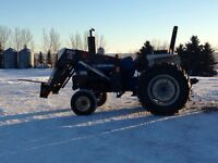 Ford 6610 Tractor with Loader