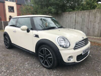 2010 MINI ONE 1.6 HATCHBACK (PEPPER PACK) WHITE **ONLY 32,000 MILES**