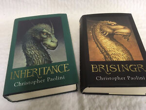 ▀▄▀Christopher Paolini Book Set Inheritance And Brisingr 1st.Ed.