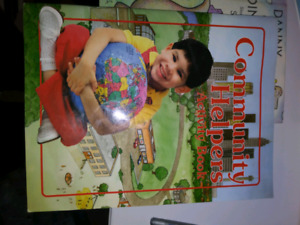 5 reading and social science books k to grade 1