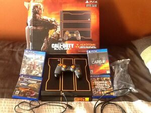 Call of Duty limited edition PS4 console with 4 games