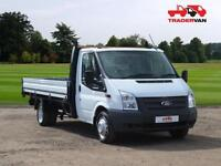 2014 FORD Transit T350 125ps RWD 12ft 6 Extended Frame Drospide DIESEL MANUAL