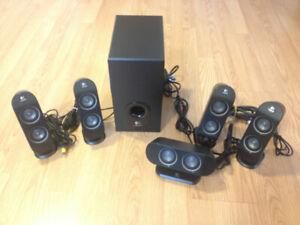Logitech X-530 5.1 Speaker Set