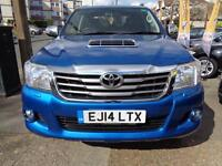 2014 14 TOYOTA HI-LUX 3.0D-4D INVINCIBLE AUTOMATIC GOOD AND BAD CREDIT FINANCE