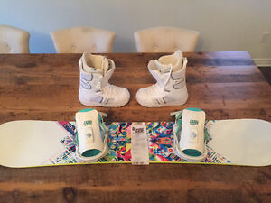 Snowboard Boots and Binding Brand New $300