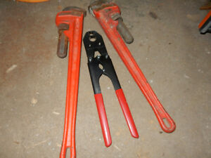 OUTILS PLOMBERIE