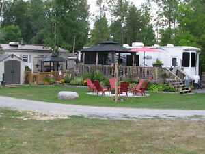 Loon Lake Resort Trailer, Lot and Share For Sale