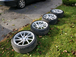 Stance SF01 Rotary Forged Wheels w/ Tires
