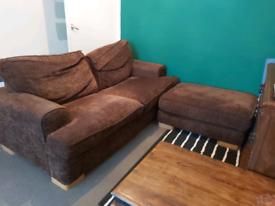 Free sofa + footrest