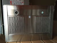 "HOTTE CHEMINÉE 30"" WALL MOUNT CHIMNEY 600 CFM STAINLESS"