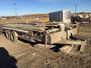 Diamond c Flatbed trailer for sale