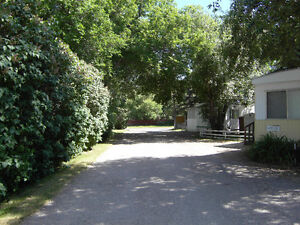 Creekside Mobile Home Park in Southern Alberta