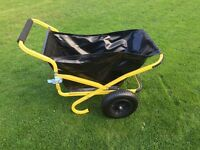 Heavy Duty fold up wheel barrow