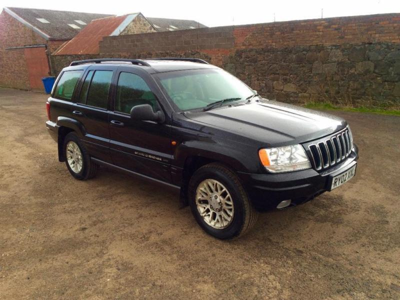 2002 jeep grand cherokee 4 7 v8 overland station wagon 4x4 5dr in lochgelly fife gumtree. Black Bedroom Furniture Sets. Home Design Ideas