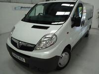 Vauxhall Vivaro 2900 CDTI + JUST SVS + EW/EM/AC