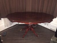 Dining table with chair & sofa set