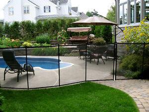 Clôture de piscine amovible ENFANT SÉCURE, Removable Pool fence West Island Greater Montréal image 2