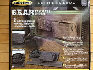 G.E.A.R. TAILGATE COVER pour JEEP JK - Neuf