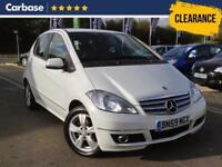 2009 MERCEDES BENZ A CLASS A160 BlueEFFICIENCY Avantgarde SE 5dr MPV 5 Seats