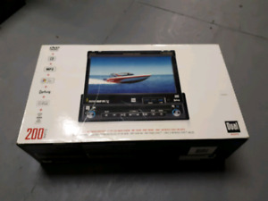 Dual DVD Receiver with LCD TFT video screen with BMW plug