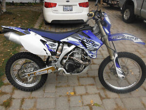 2008 wr 450 blue plated