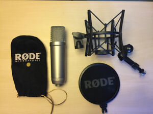 Rode NT1A Large Diaphragm Condenser Microphone Set